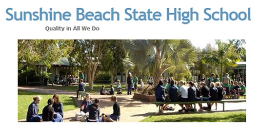 Sunshine Beach State High School - Education Directory