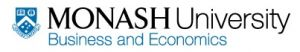 Department of Accounting and Finance - Monash University - Education Directory