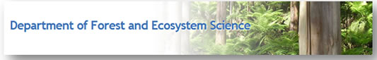 Department of forest and Ecosystem Science - Education Directory