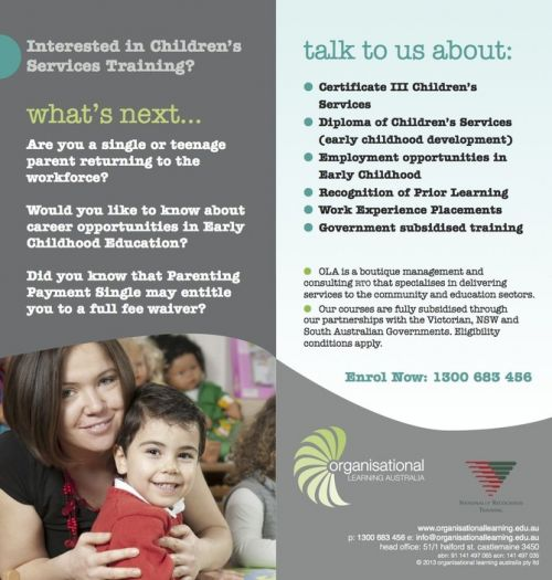 Organisational Learning Australia Pty. Ltd. - Education Directory