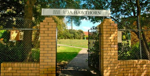 U3A Hawthorn - Education Directory