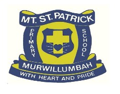 Mt St Patrick Primary School  - Education Directory